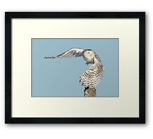 Into the beyond Framed Print