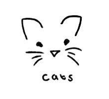 Cats - Simplistic  by TotoroTeser