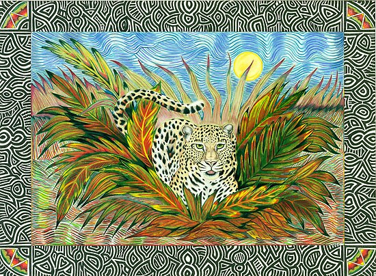 Moonlight Leopard by Catherine  Howell