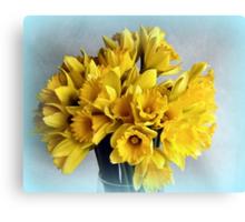 Mini Daffodil Delight Canvas Print