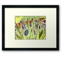 Come on Lay Me a Royal Flush Framed Print