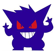 Gengar shadow by linamomokoart