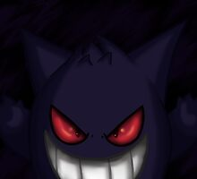 Gengar by gamerghoul523
