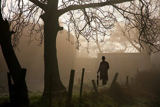 The Haunted silhouette by Paul Boyle