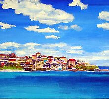 Bondi Blues  by gillsart