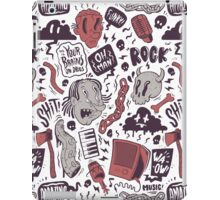Rock, Shit iPad Case/Skin