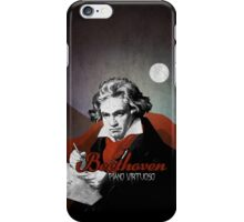 Beethoven piano virtuoso iPhone Case/Skin