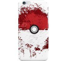Pokeball Splat iPhone Case/Skin