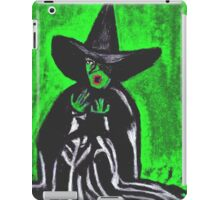THE MELTING WICKED WITCH  iPad Case/Skin