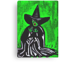 THE MELTING WICKED WITCH  Canvas Print