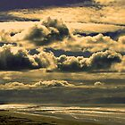 Skyscape - Pines Beach, NZ by John Brotheridge