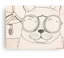 Aviator Kitty Canvas Print