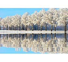 NATURES WINTER MIRROR Photographic Print