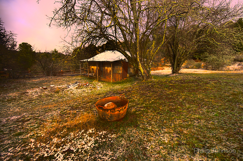 Lavender Haze - Hill End - The HDR Series by Philip Johnson