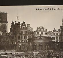 The church of Our Lady, die Frauenkirche, after Feb 1945 by bertspix