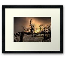 Gold - Hill End NSW Australia  - The HDR Experience Series Framed Print