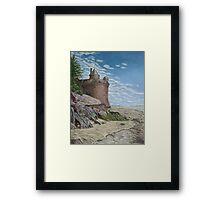 Tower, Mont St. Michel Normandie Framed Print