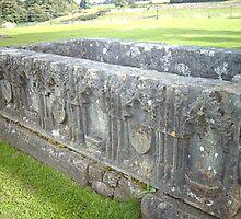 Tomb at Egglestone Abbey by hilarydougill
