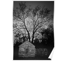 Old Abandoned House in Pinewood SC Poster