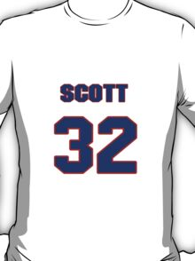 National baseball player Scott Aldred jersey 32 T-Shirt