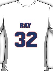 National baseball player Ray Berres jersey 32 T-Shirt