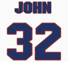 National baseball player John Briggs jersey 32 T-Shirt