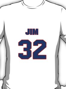 National baseball player Jim Brower jersey 32 T-Shirt