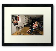 The Stylist Framed Print