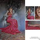 Portrait of Nicole Kidman painted by Oscar Casares by Oscar Casares