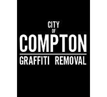 CITY OF COMPTON GRAFFITI REMOVAL Photographic Print