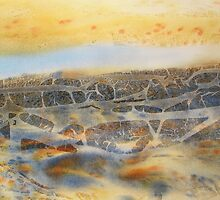 Watercolour: Alluvial by Marion Chapman