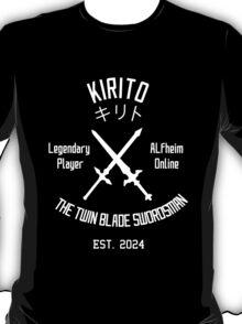 ALO Twin Blade Swordsman (White) T-Shirt