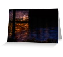 Charles painted by darkness Greeting Card