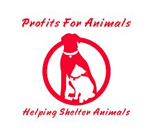 Profits For Animals Logo by Profits4Animals