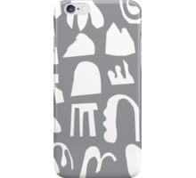 Practice Array - gray iPhone Case/Skin