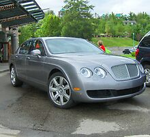 The Bently Continental Flying Spur by Carole Boudreau