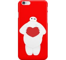 Baymax with Heart iPhone Case/Skin