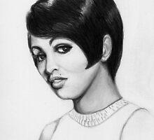 Tammi Terrell - Motown Singer  (1945-1967) by Carliss Mora