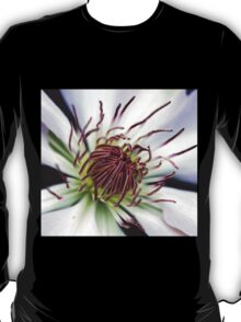 Classic White Clematis T-Shirt