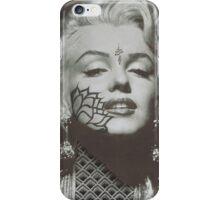 Marilyn Monroe Pointillism Piece iPhone Case/Skin