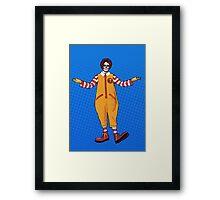 Ronnie McDeath Framed Print