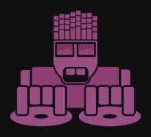 DJ Equalizer (Pink Print) by rudeboyskunk