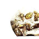 Flower skull design by cabbaclothing