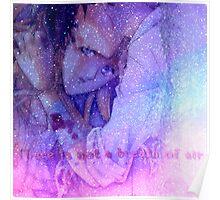 galaxy space gundam wing relena & Heero  Poster