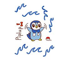 Pokemon Piplup Chibi by bowitchingC