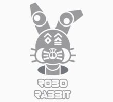 Robo Rabbit (With Text) by rudeboyskunk