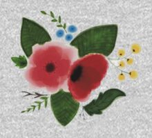 Flowers(Water color) Kids Clothes