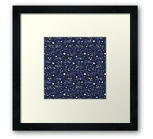 cosmos and stars Framed Print