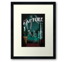 Bioshock -  Welcome To Rapture Framed Print