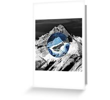 Lost mountain Greeting Card